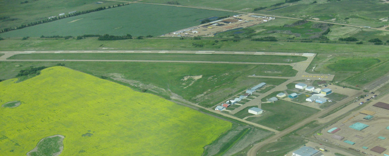 Camrose airfield